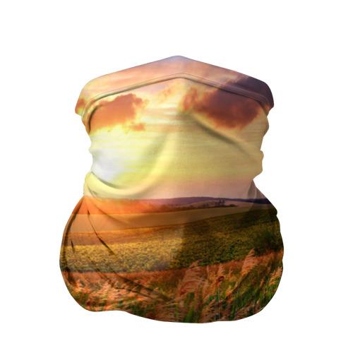 Бандана-труба 3D  Фото 01, Родные просторы