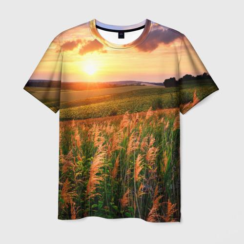 Мужская футболка 3D  Фото 03, Родные просторы