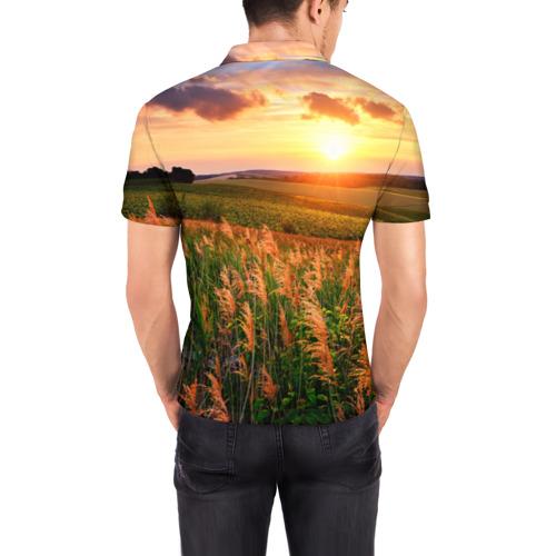 Мужская рубашка поло 3D  Фото 04, Родные просторы