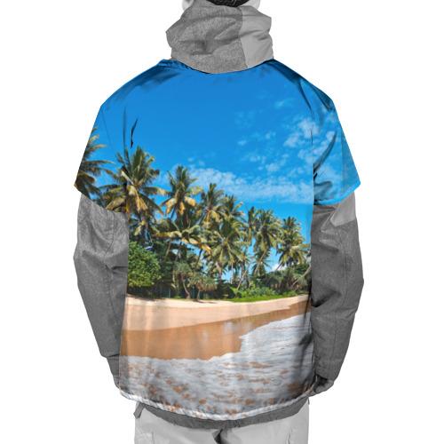 Накидка на куртку 3D  Фото 02, Райское местечко