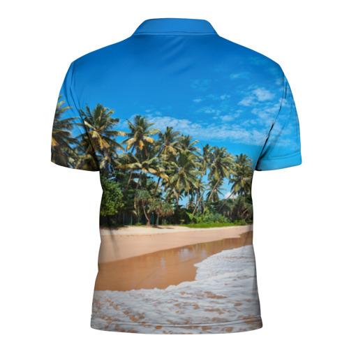 Мужская рубашка поло 3D  Фото 02, Райское местечко