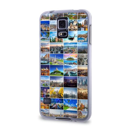 Чехол для Samsung Galaxy S5 силиконовый  Фото 03, Мир путешествий
