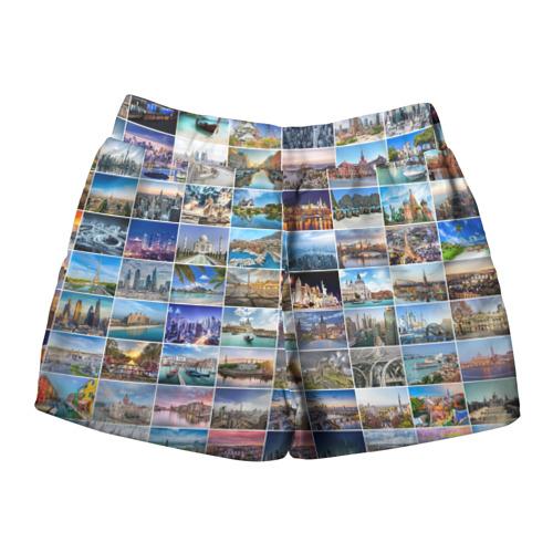Женские шорты 3D  Фото 02, Знатный турист