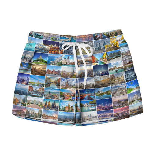Женские шорты 3D Знатный турист