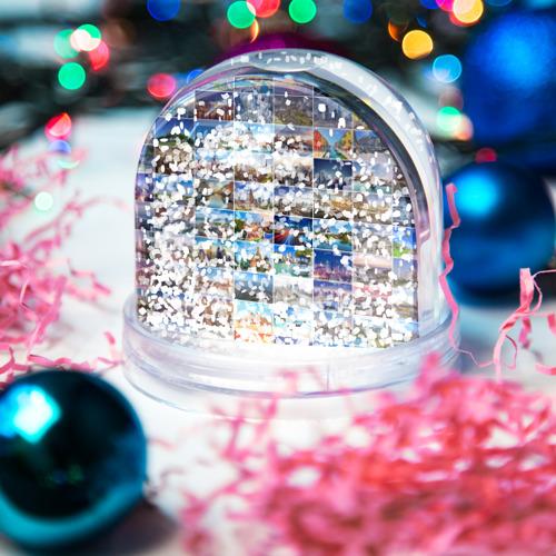 Водяной шар со снегом  Фото 04, Знатный турист