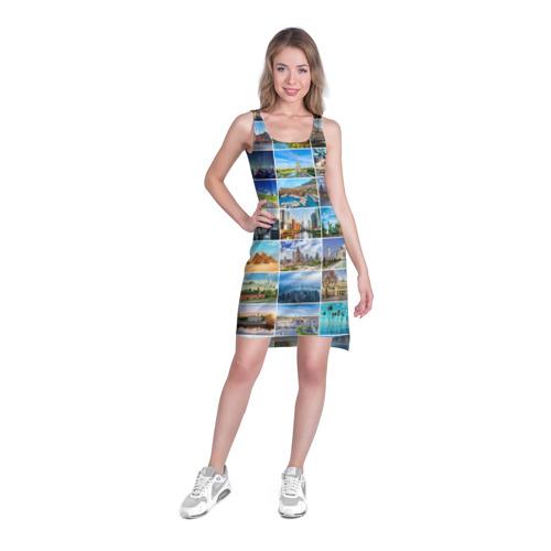 Платье-майка 3D  Фото 03, Достопримечательности планеты