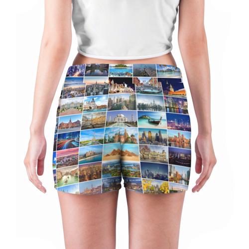 Женские шорты 3D  Фото 04, Достопримечательности планеты