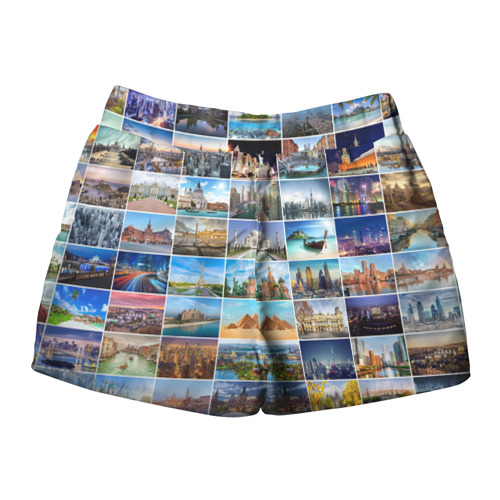 Женские шорты 3D  Фото 02, Достопримечательности планеты