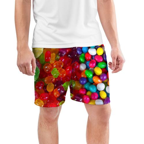 Мужские шорты 3D спортивные  Фото 03, Вкусняшки