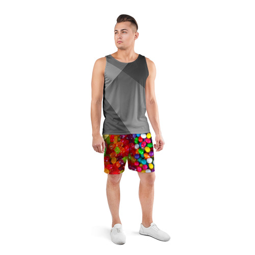 Мужские шорты 3D спортивные  Фото 04, Вкусняшки