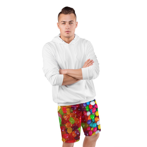 Мужские шорты 3D спортивные  Фото 05, Вкусняшки