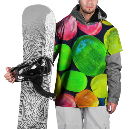 Накидка на куртку 3D  Фото 01, Карамельки