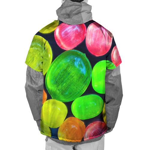 Накидка на куртку 3D  Фото 02, Карамельки