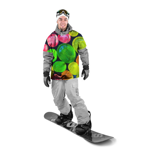 Накидка на куртку 3D  Фото 03, Карамельки