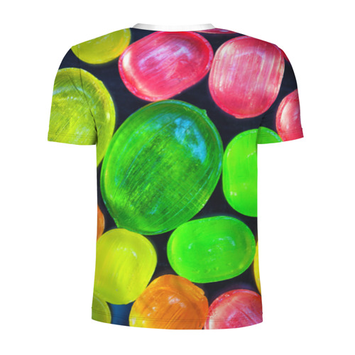 Мужская футболка 3D спортивная  Фото 02, Карамельки