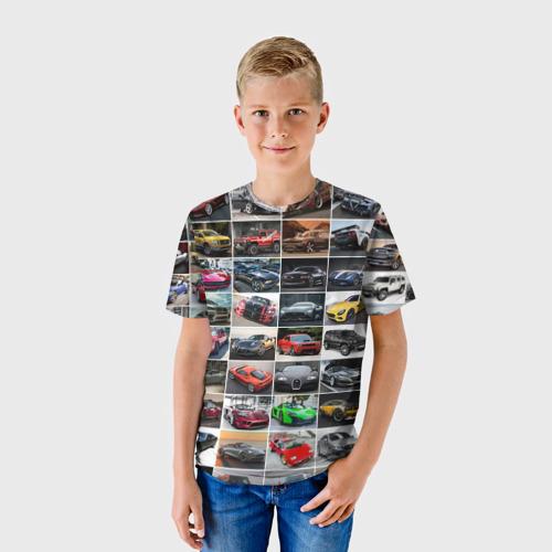 Детская футболка 3D Лучшие авто