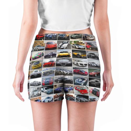 Женские шорты 3D  Фото 04, Прокачанные тачки