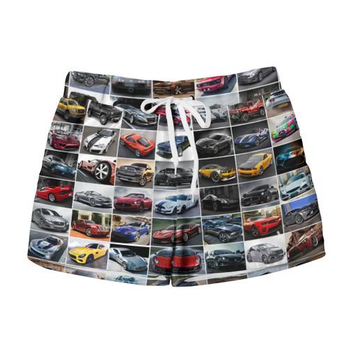 Женские шорты 3D  Фото 01, Прокачанные тачки