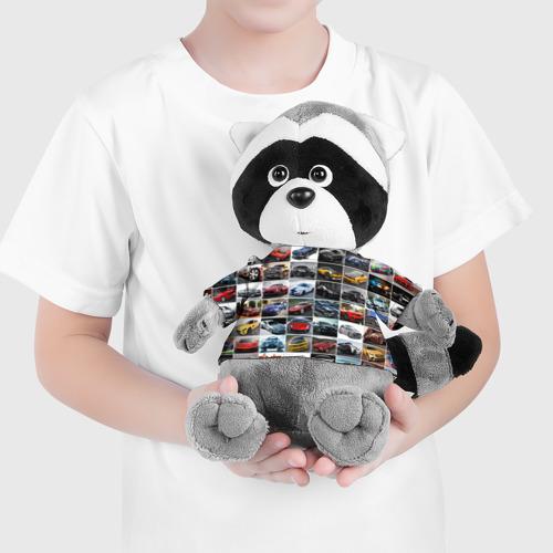 Енотик в футболке 3D  Фото 04, Прокачанные тачки