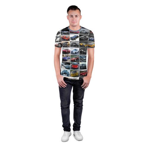 Мужская футболка 3D спортивная  Фото 04, Прокачанные тачки
