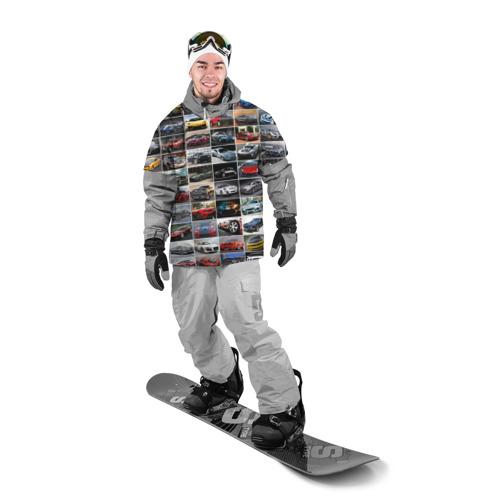 Накидка на куртку 3D Мощные тачки Фото 01