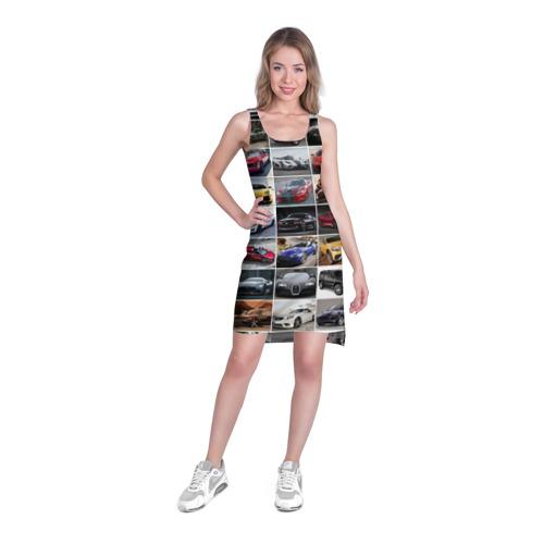 Платье-майка 3D  Фото 03, Элитные авто