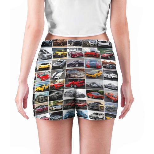 Женские шорты 3D  Фото 04, Элитные авто