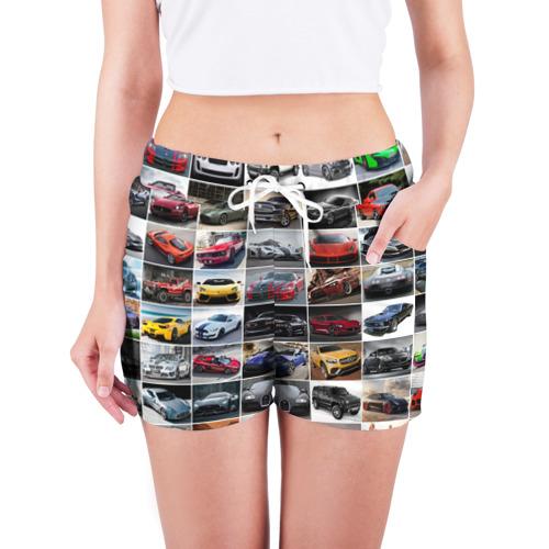 Женские шорты 3D  Фото 03, Элитные авто