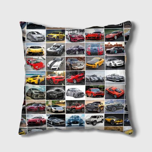 Подушка 3D  Фото 02, Элитные авто