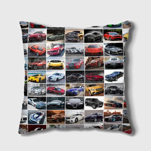 Подушка 3D  Фото 01, Элитные авто