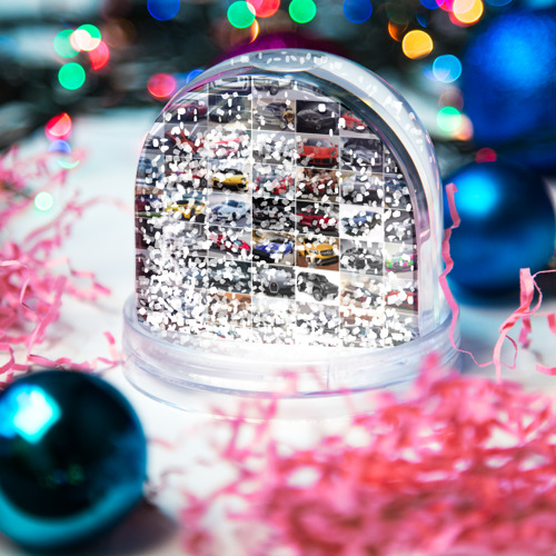 Водяной шар со снегом  Фото 04, Элитные авто