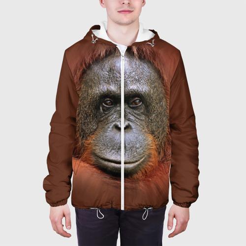 Мужская куртка 3D Обезьяна Фото 01