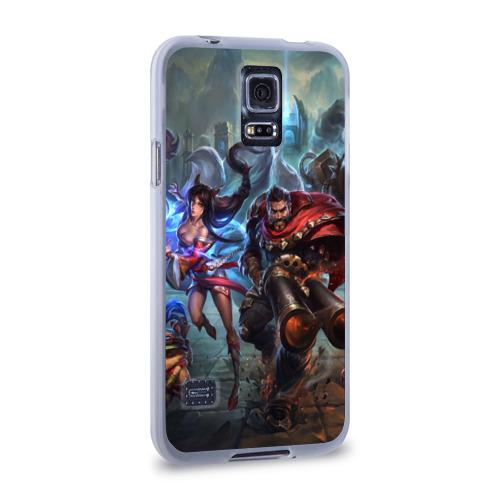 Чехол для Samsung Galaxy S5 силиконовый  Фото 02, League of legends