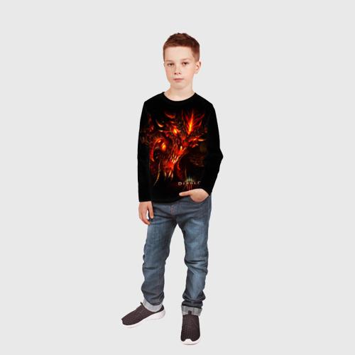 Детский лонгслив 3D  Фото 05, Diablo
