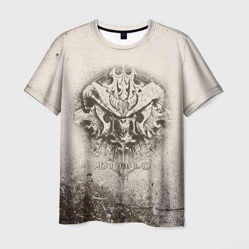 Мужская футболка 3D Diablo