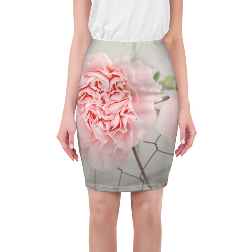 Юбка 3D  Фото 01, Розовый цветок