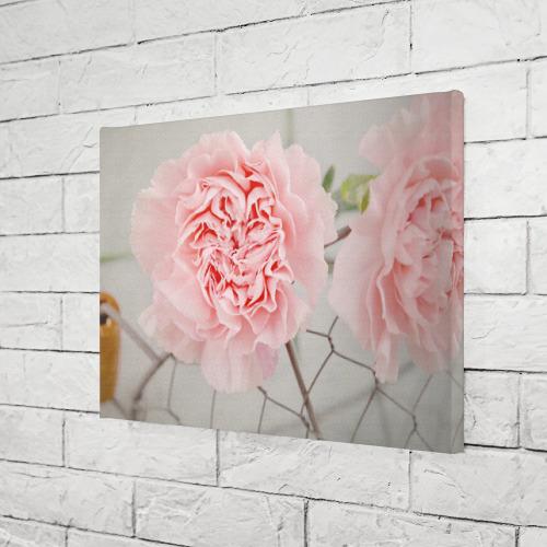 Холст прямоугольный  Фото 03, Розовый цветок
