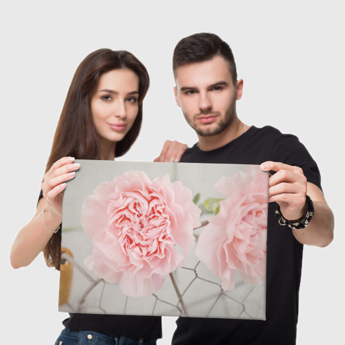 Холст прямоугольный  Фото 05, Розовый цветок