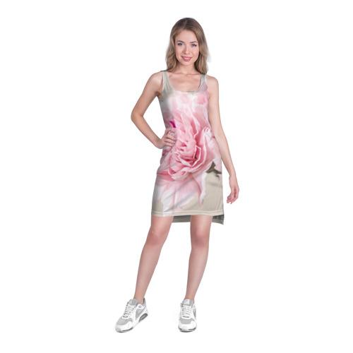 Платье-майка 3D Розовый цветок 5 Фото 01
