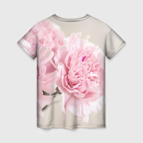 Женская футболка 3D Розовый цветок 5 Фото 01