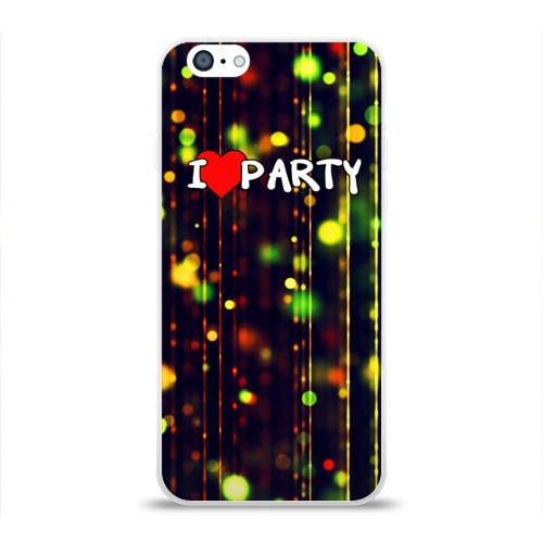 Чехол для Apple iPhone 6 силиконовый глянцевый  Фото 01, Party