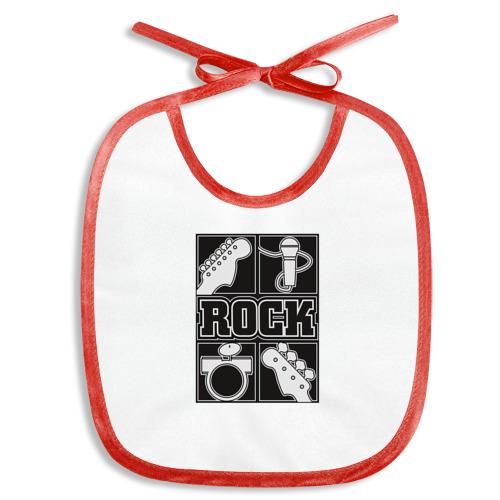 Слюнявчик  Фото 01, Rock