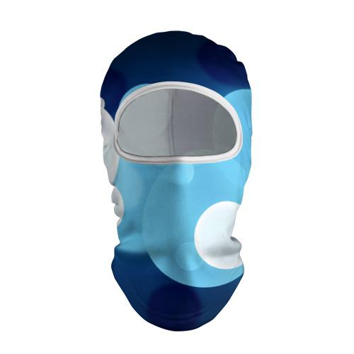 Балаклава 3D  Фото 01, Blue dots