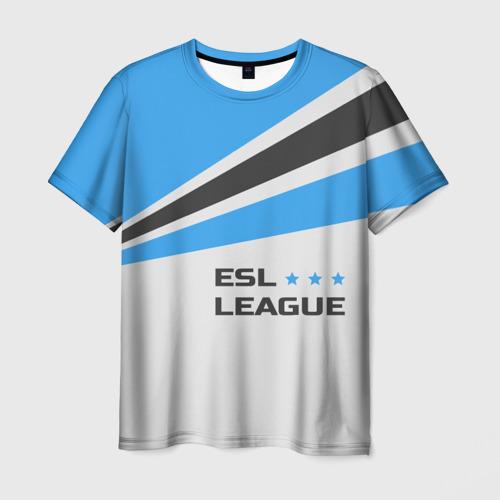 Мужская футболка 3D ESL league