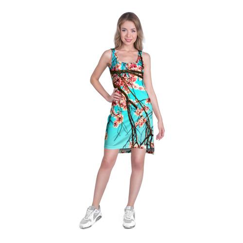 Платье-майка 3D  Фото 03, Сакура