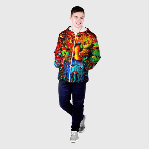 Мужская куртка 3D  Фото 03, Краска