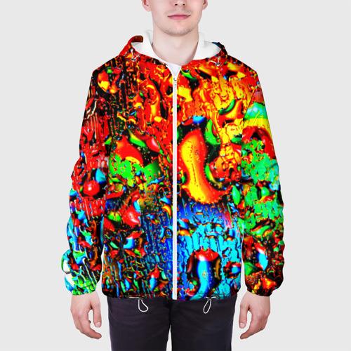 Мужская куртка 3D  Фото 04, Краска