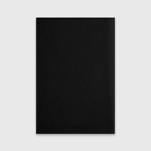 Обложка для паспорта матовая кожа Гроза Фото 01
