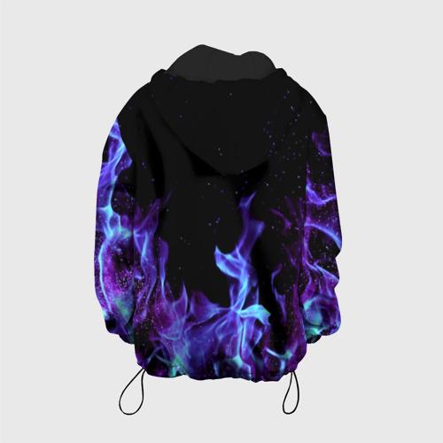 Детская куртка 3D Синий огонь Фото 01