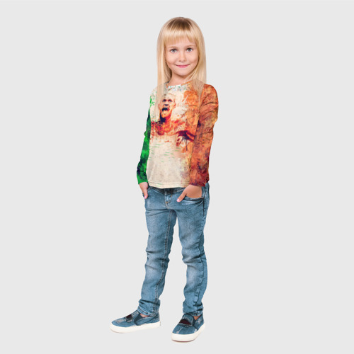Детский лонгслив 3D  Фото 04, Конор Макгрегор 1